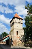 picture of sibiu  - sibiu city romania The Potters Tower landmark architecture - JPG