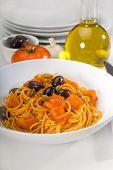 Spaghetti Pasta Puttanesca poster