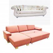 The image of a folding sofa