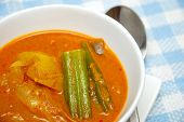 Asian Spicy Vegetarian Curry poster