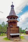 wooden belfry