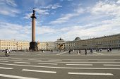 Palace Square In Saint-petersburg