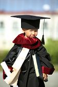 graduate - a little boy