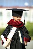 graduate - a little boy