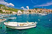 Amazing Town Of Hvar Waterfront