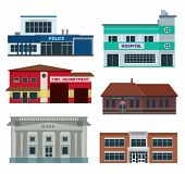 Service City Buildings