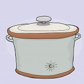 Slow Cooker With Lid