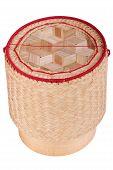 Asian Wood Basket