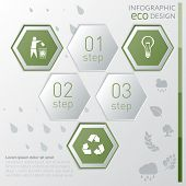 Eco Infographic Template.