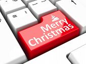 Computer Keyboard Christmas