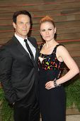 LOS ANGELES - MAR 2:  Stephen Moyer, Anna Paquin at the 2014 Vanity Fair Oscar Party at the Sunset Boulevard on March 2, 2014 in West Hollywood, CA