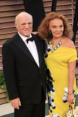 LOS ANGELES - MAR 2:  Barry Diller, Diane Von Furstenberg at the 2014 Vanity Fair Oscar Party at the Sunset Boulevard on March 2, 2014 in West Hollywood, CA
