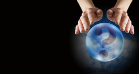 picture of oracle  - Crystal ball reader - JPG
