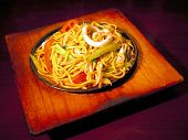 Egg Noodle Stirfry