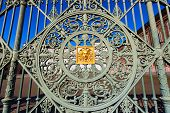 picture of turin  - Detail of the gate  - JPG