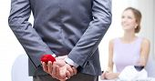 stock photo of propose  - couple - JPG