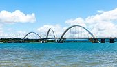 foto of brasilia  - Bridge in Brasilia - JPG