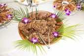Hawaii Fried Chicken On Table