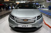 Chevrolet Volt Front View At Paris Motor Show