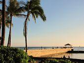 Beach Pier at Waikiki