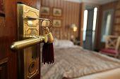 A nice hotel room