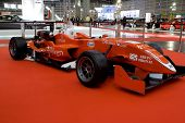 Valencia, Spanien - 4. Dezember - GTA Motor Formel 3-Rennwagen bei der Valencia-Auto-Show am 4. Dezember,