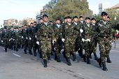 VALENCIA, SPAIN - DECEMBER 19: Spain's Regiment Lusitania 8 (Marines) celebrate their 300 year anniv