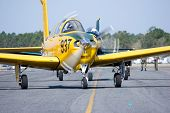 PALM COAST, FLORIDA - MARCH 27: Pilots prepare to take off at the Wings Over Flagler Air Show at the
