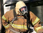 Fireman With Mask
