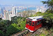 tranvía de pico en Hong Kong