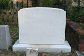 Blank Tombstone so you can white your own epitaph
