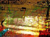 Grunge Grafitti Collage