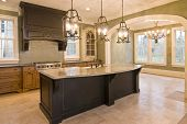 custom kitchen and diningroom