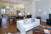 Luxus Studio Apartment, offenen Grundriss-Gestaltung