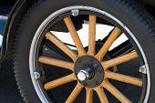 Wood Spoke Wheel