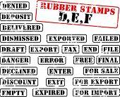 Auflistung von Stempel mit Worten, beginnend mit dem Buchstaben d, e, f. finden Sie unter andere Stempel sammeln