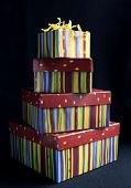 Stacked Gift Boxes