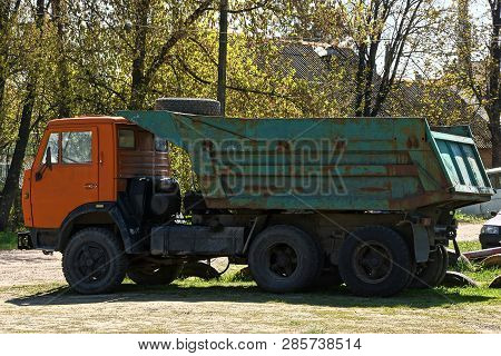 A Big Old Colored Truck
