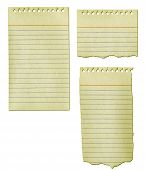 Old Notepad Paper Collection