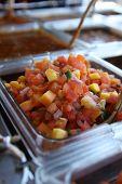 Salsa fresca com milho