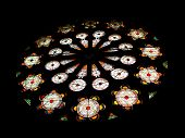 Star Of David Stained Glass Rose Window