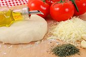 Ingredientes da pizza