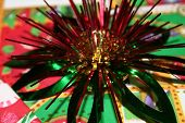Metallic Christmas Bow