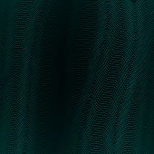Abstract Background With Wavy Lines Of Waveform Dynamic Pattern Of Lines Stripe Specks Points Partic poster