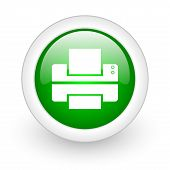 print web button