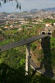 Funchal-Fahrbahn