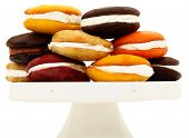 Platter Stacked With Variety Of Whoopie Pies