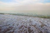 Seascape. Sea Wave Sky. Seascape Background Image poster