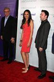 LOS ANGELES - 6 de JAN: Karen Olivo llega a la NBC Universal All-Star invierno TCA fiesta en el ala