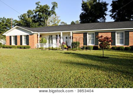 Picture Or Photo Of Lovely Ranch Style Home Red Brick